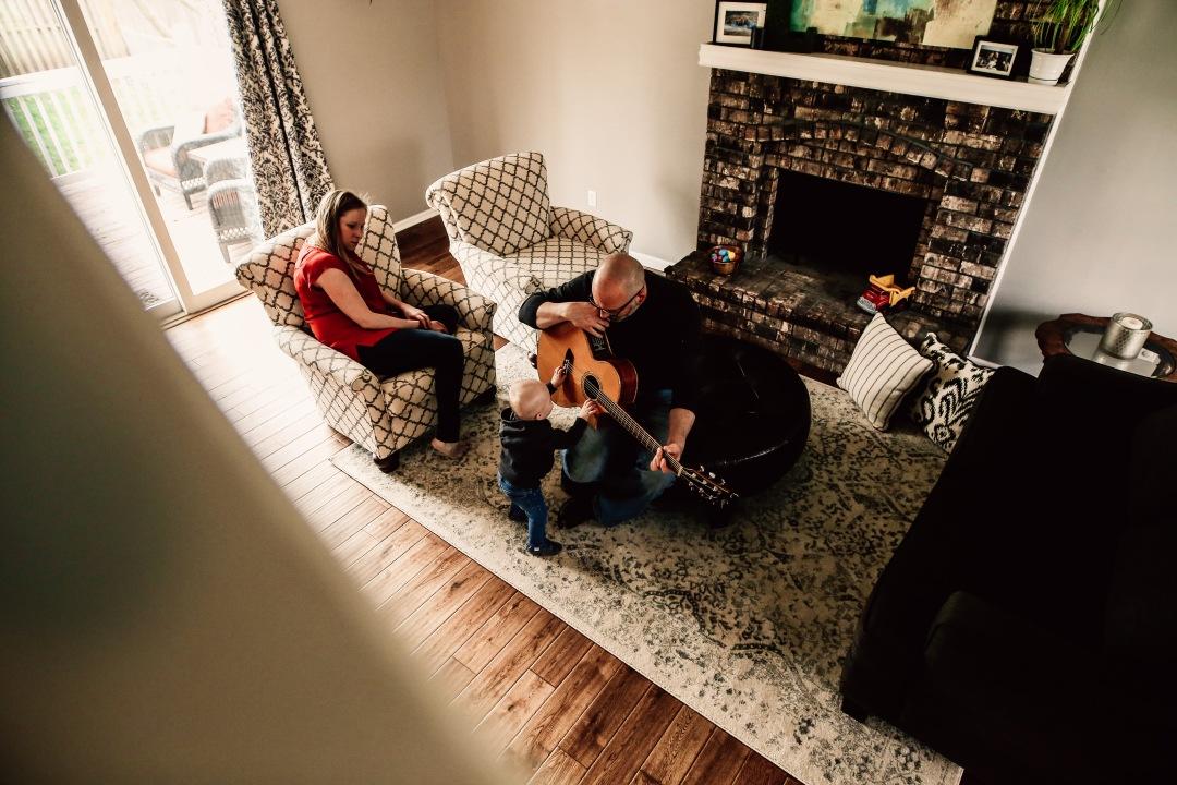 Kansas City Family Documentary Lifestyle Photography Baby