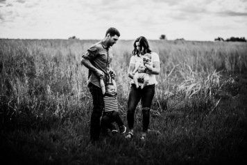 Family Photography Kansas City Lawrence field baby milestone session toddler