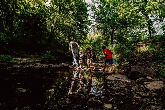 Adventure Day | Kansas City Family Photography | Mill Creek