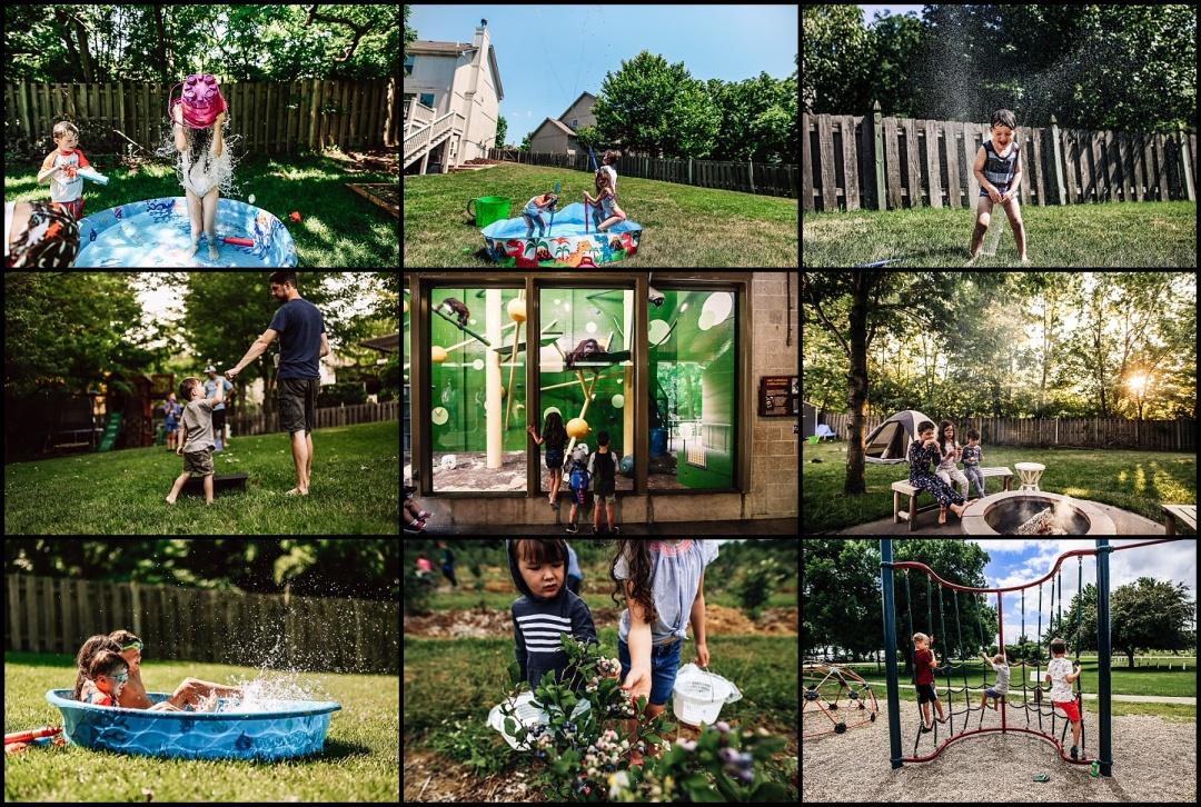family photography kansas city documentary kids summer