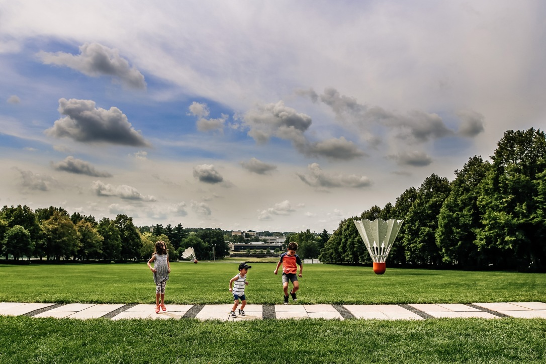 Kansas City Family Photography Nelson Atkins Art Museum Kids