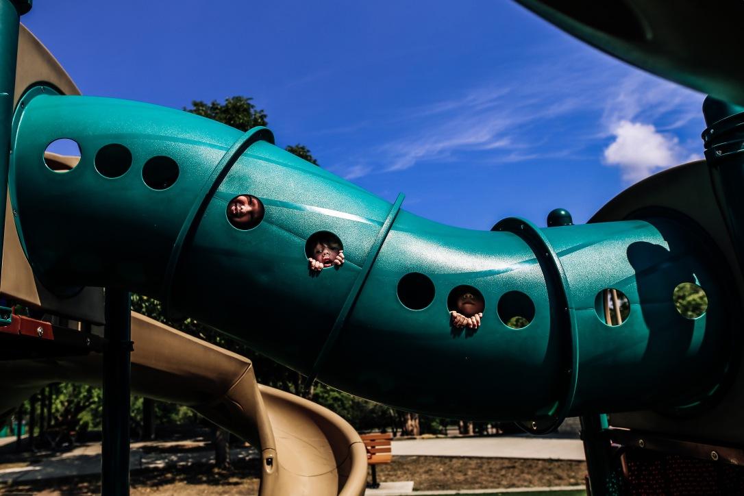 children playground slide summer kansas city