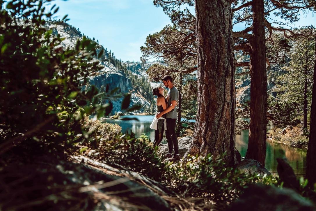 Eagle Lake Lake Tahoe California Desolation Wilderness