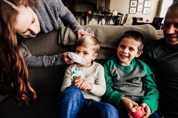 At Home | Linski Family | Kansas City FamilyPhotography