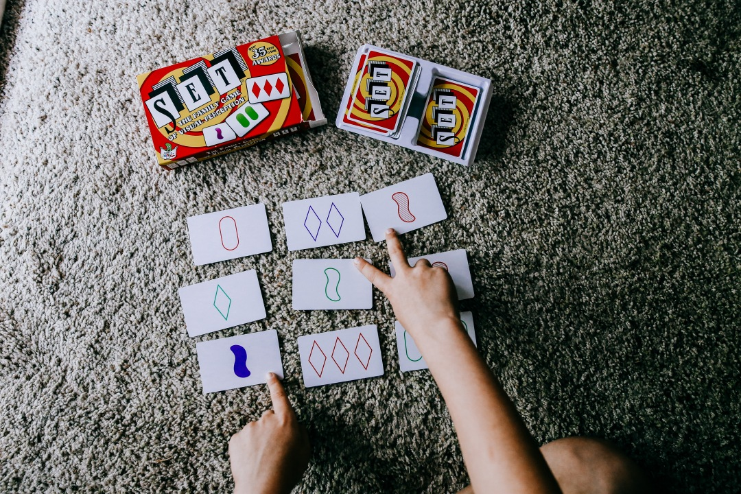 board game card game family kids set