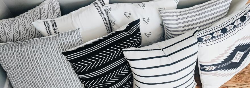 pillow covers amazon home decor black and white modern farmhouse