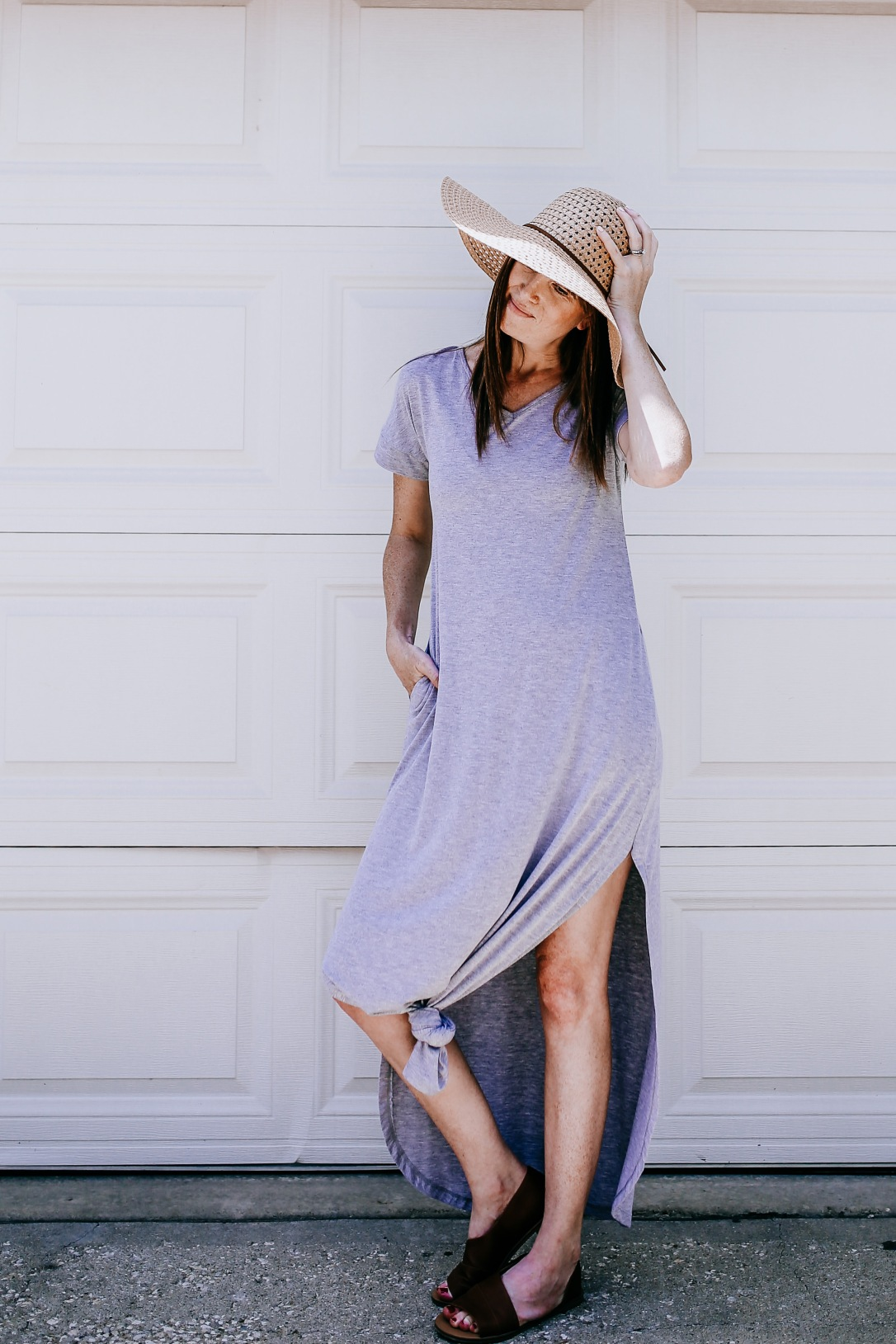 summer dress maxi t shirt amazon finds